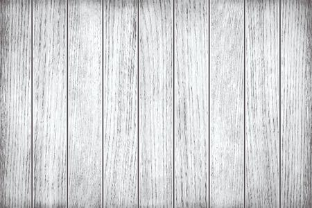 textura madera: Blanca, textura de madera gris, tablones pintados viejos Vectores