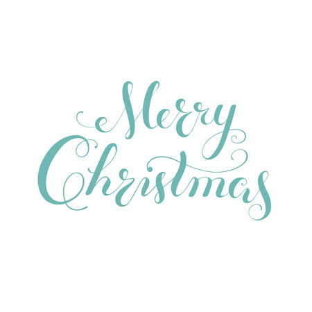 Merry Christmas vector text Calligraphic Lettering design card template Creative typography for Holiday Greeting Gift Poster. Calligraphy Font style Banner