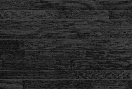 Black Wooden Background. Horizontal textured oak planks