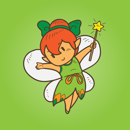 cartoon fairy: Cartoon Fairy