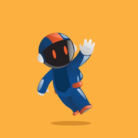 shinny: Robot Astronaut