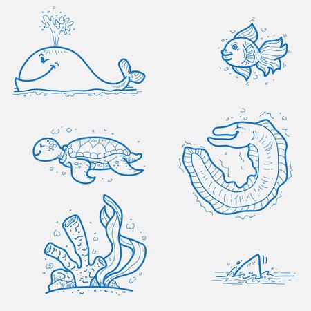 sea creature: Sea creature
