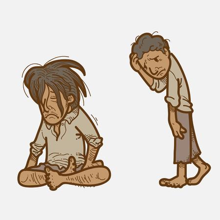 starving: Poor People