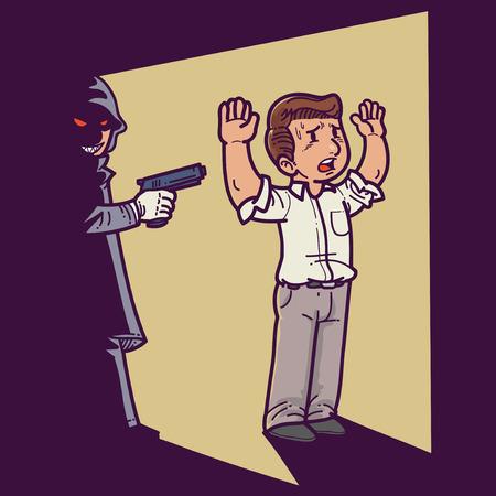 assassin: Killer in the dark Illustration