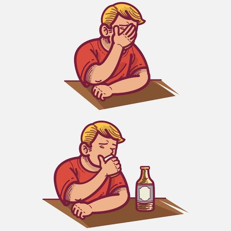 annoyance: Frustrated Illustration