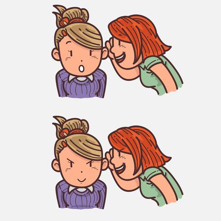Whispering Illustration