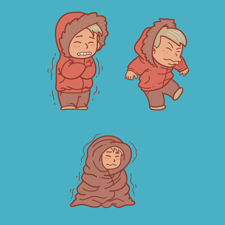 Getting Cold Illustration
