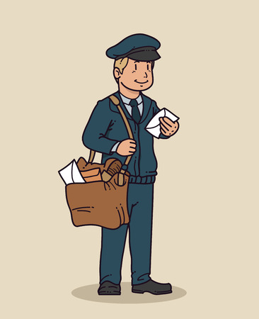 Mailman cartoon