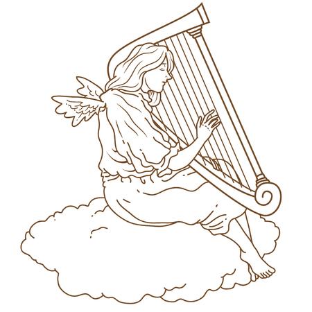 angel: Angel harp