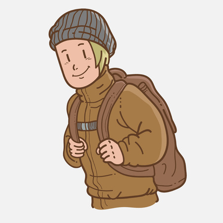 traveler: Traveler Illustration
