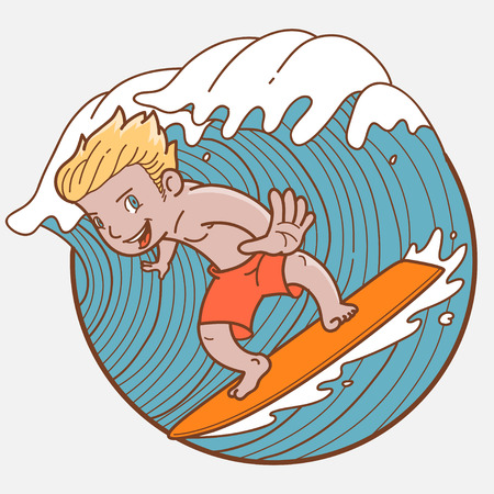 dangerous man: Surf boy
