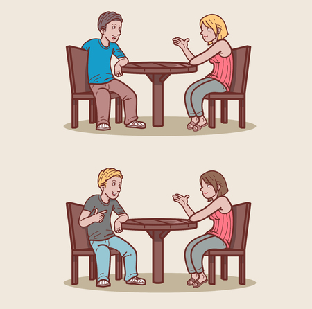 Couple dating