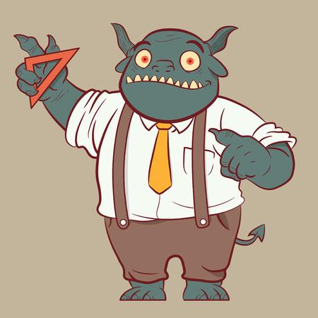 Monster Math teacher