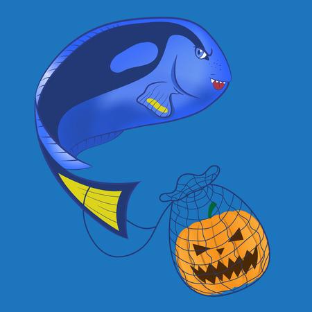 tang: Halloween Blue tang