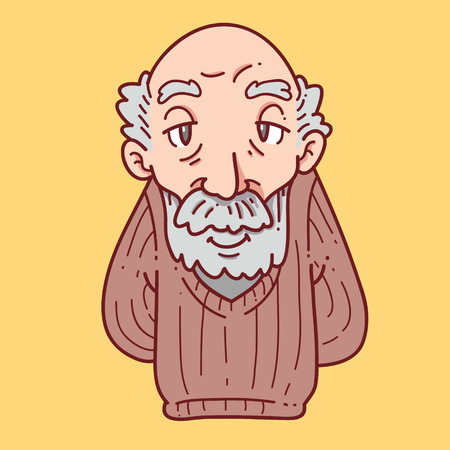 Grandpa cartoon