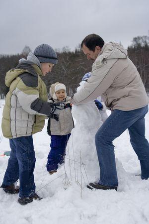 fun on a snow Stock Photo - 630090