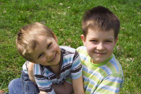 smiling boys Stock Photo - 644742