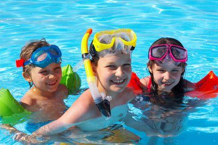 swimmers Фото со стока - 1290139
