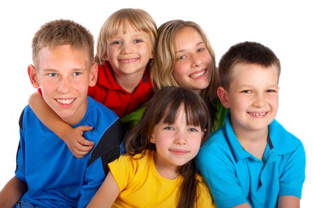Happy Children Banque d'images
