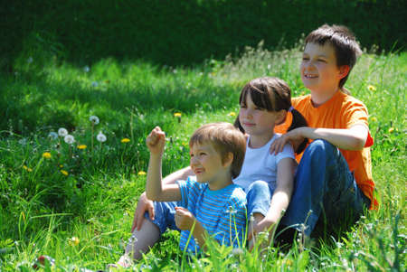 Happy Children Banco de Imagens