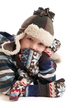 winter boy Stock Photo - 4615399