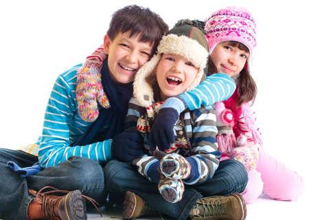 woolen: Happy Siblings