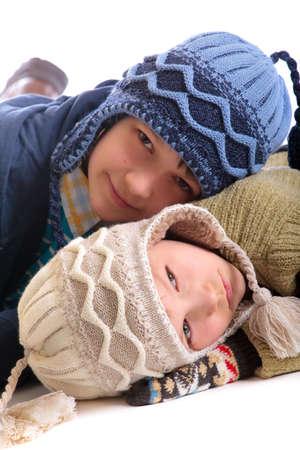 winter children Stock Photo - 4615327