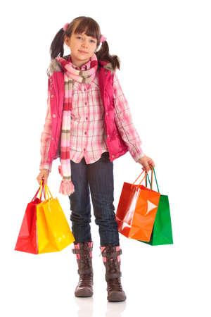 Shopping Girl Stock Photo - 4615383