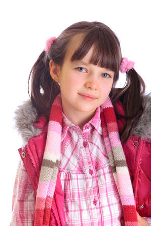 Portrait of happy young girl Stock Photo - 4615395