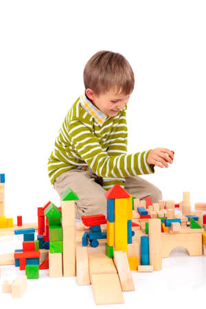 Boy playing Stock Photo - 4615386