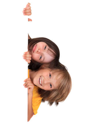 kid friendly: Happy sister with brother