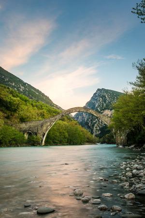 Bridge of Plaka Arta Greece photo