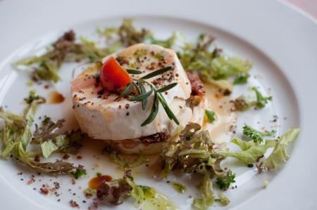 hermelin: traditional czech hermelin cheese Stock Photo