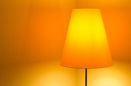 orange lamp photo