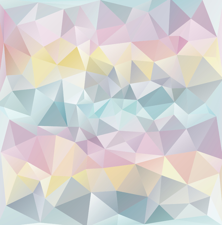 Abstract polygonal texture-pastel colours illustration illustration