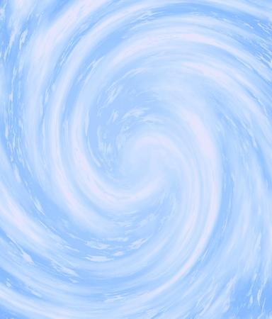 Espiral de viento lindo en color azul Foto de archivo - 29610452