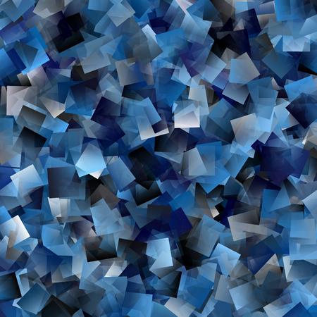transcendent: Cool tiled background in blue, white and black
