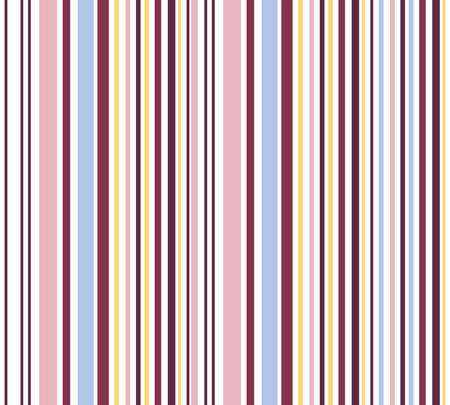 banding: Romantic vertical striped seamless background-illustration Stock Photo