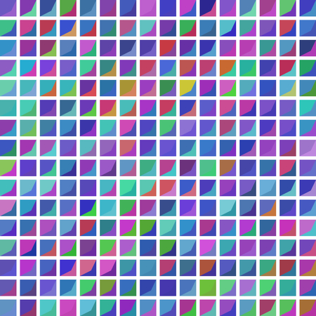 envisage: Seamless squared pattern on white background - vector Illustration
