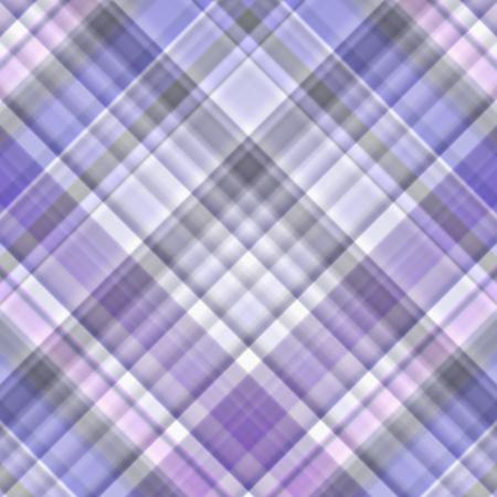 gingham pattern: Blue, white and violet gingham pattern - illustration