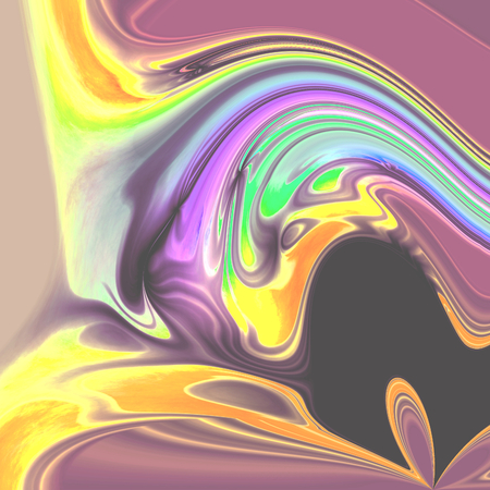 blended: Abstract blended pastel colors image - illustration Stock Photo
