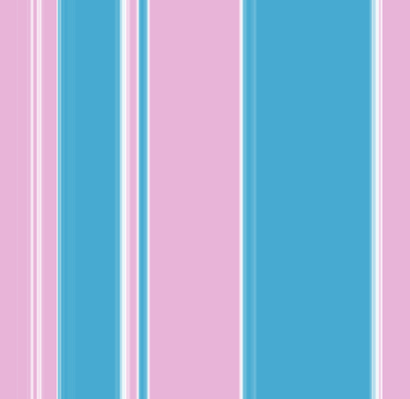 garish: Vertical stripey pattern in blue, pink and white - illustration