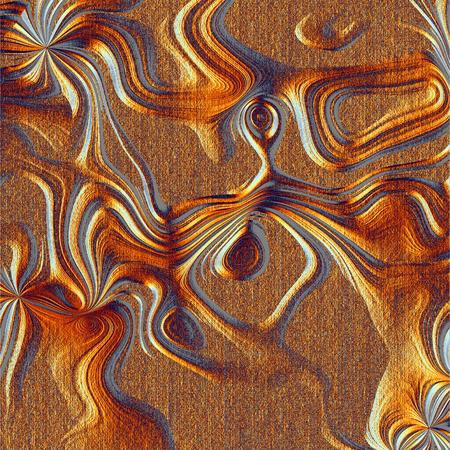 Abstract illuminated brown relief texture - illustration