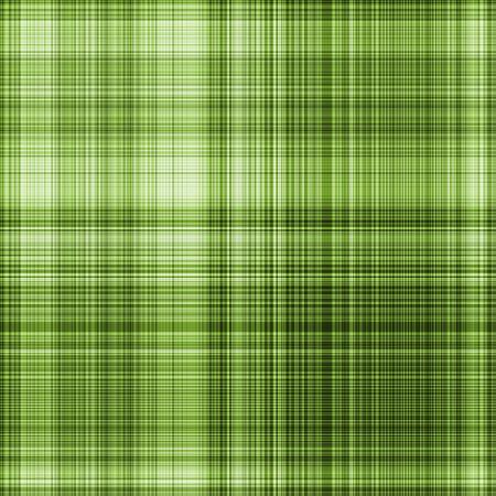 Seamless gingham pattern in green - illustration