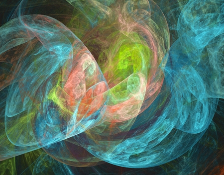 iridescent: Beautiful iridescent plasmatic background in blue, pink and green spectrum