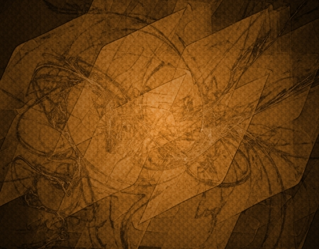 Abstract textured background in brown spectrum with vignette effect Stock Photo