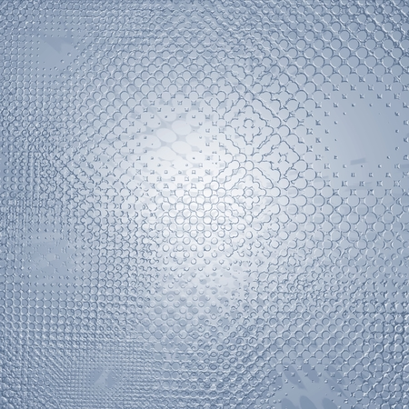 diffused: Abstract relief metallic pattern or texture in blue spectrum Stock Photo