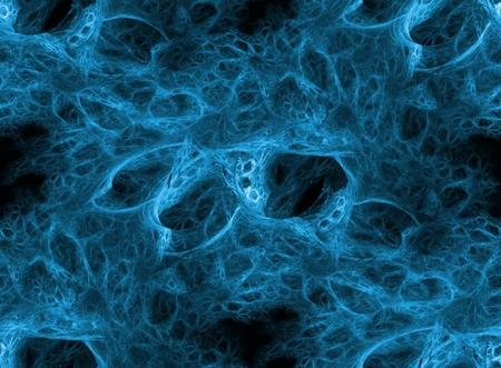 porous: Seamless porous texture on black background Stock Photo