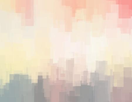 Resumen de fondo o la textura con los objetos geométricos en colores pastel suaves