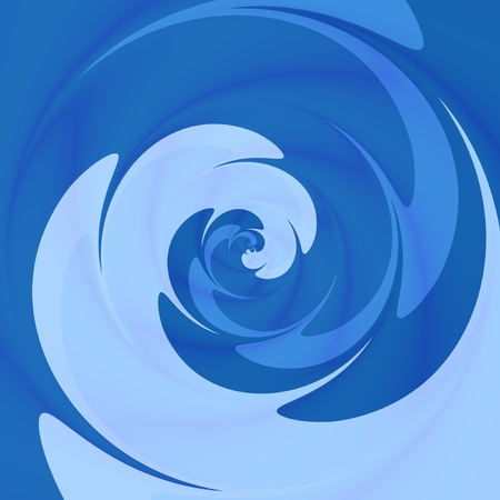 spin: Abstract twisted background in blue spectrum